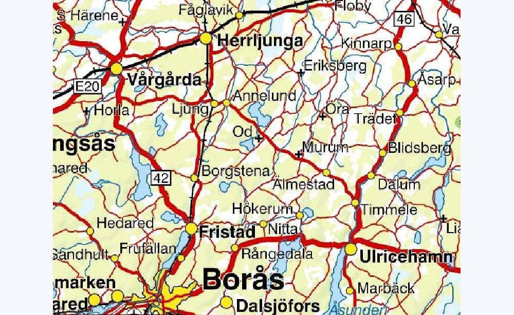 Gratis kartor fr nedladdning dis utdrag ur sverigekartan ver bors altavistaventures Choice Image