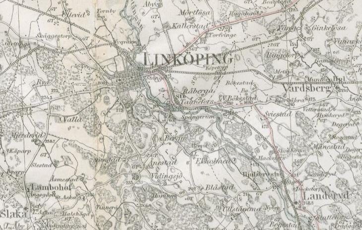 Digitala Historiska Kartor Till Din Hjalp Dis